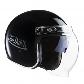 VON DUTCH HELMET SHINY BLACK