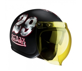 CASQUE VON DUTCH NOIR MAT TWENTY NINE