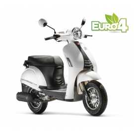 SCOOTER MASH 50 CITY E4 BLANC