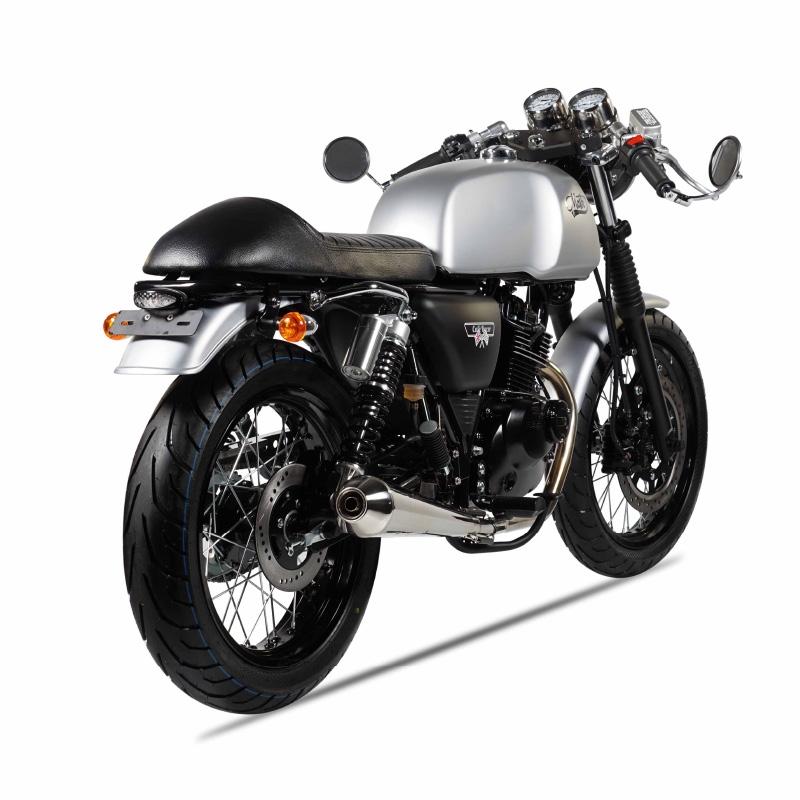 mash cafe racer 125cc silver mat mash motors. Black Bedroom Furniture Sets. Home Design Ideas