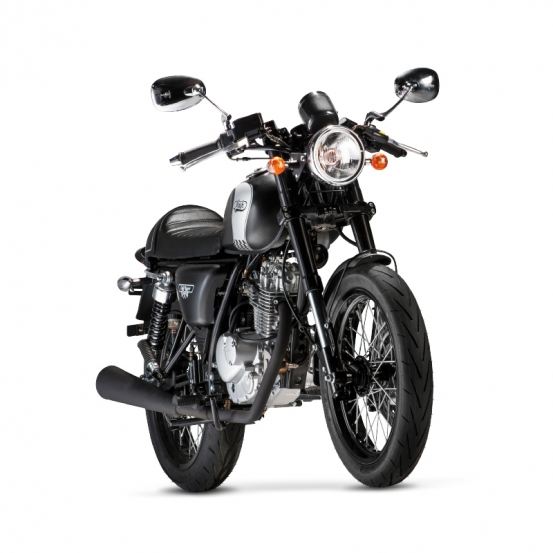 cafe racer 125 cc black euro 4 mash motors. Black Bedroom Furniture Sets. Home Design Ideas