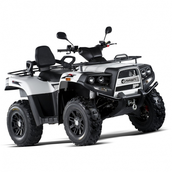 Quad MudStar 600 Blanc