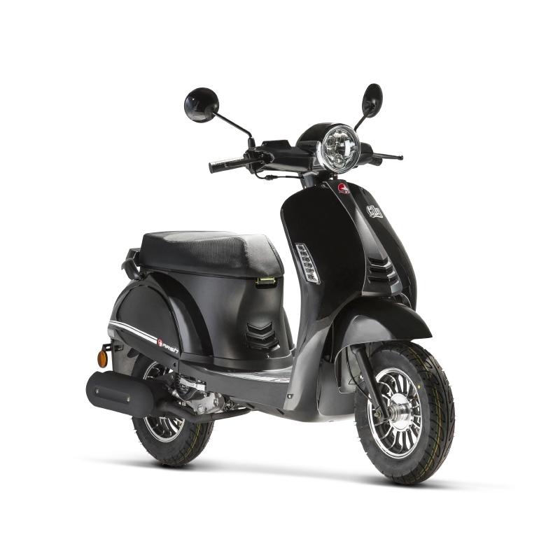 scooter mash 50 city e4 noir mash motors. Black Bedroom Furniture Sets. Home Design Ideas