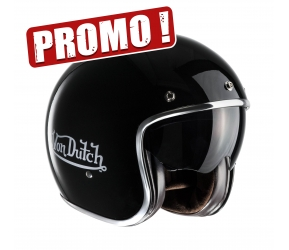 CASQUE VON DUTCH NOIR BRILLANT
